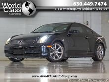 2006_INFINITI_G35 Coupe_ONE OWNER LEATHER SUNROOF XENONS_ Chicago IL