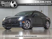 INFINITI G35 Coupe ONE OWNER LEATHER SUNROOF XENONS 2006