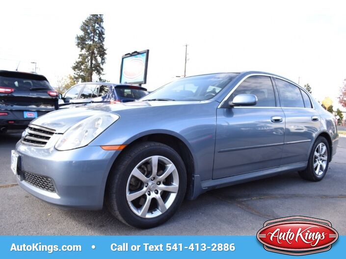 2006 Infiniti G35 Sedan G35x AWD Bend OR
