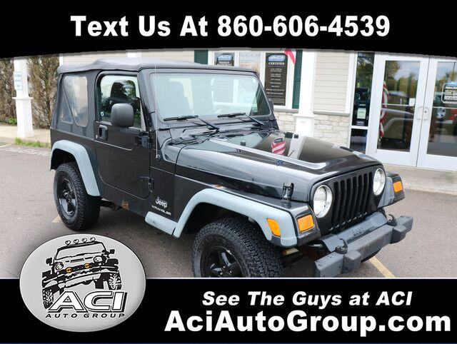2006 Jeep Wrangler SE East Windsor CT