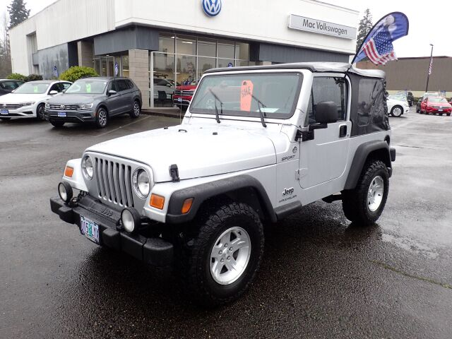 2006 Jeep Wrangler Sport McMinnville OR