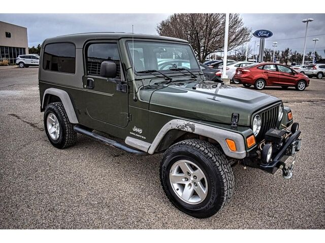 2006 Jeep Wrangler Unlimited LWB Amarillo TX