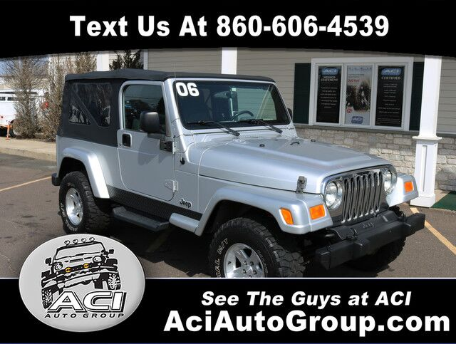 2006 Jeep Wrangler Unlimited LWB East Windsor CT