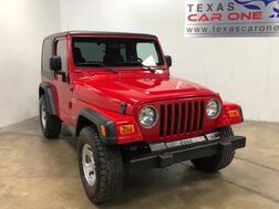 2006_Jeep_Wrangler_X 4WD AUTOMATIC HARD TOP CONVERTIBLE CRUISE CONTROL STEERING WHE_ Carrollton TX