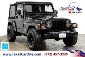 2006_Jeep_Wrangler_X 4WD SOFT TOP CONVERTIBLE ADJUSTABLE STEERING WHEEL COLUMN_ Carrollton TX