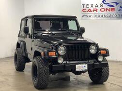 2006_Jeep_Wrangler_X 4WD SOFT TOP CONVERTIBLE CRUISE CONTROL TOWING HITCH ALLOY WHE_ Carrollton TX