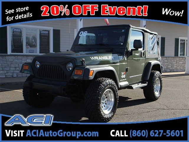 2006 Jeep Wrangler X East Windsor CT