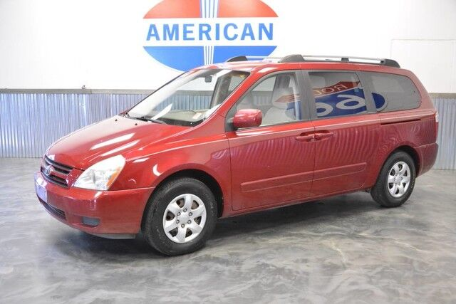 2006 Kia Sedona LX 3RD ROW! CAPTAIN CHAIRS! LOW MILES! PRICED AT A STEAL!!