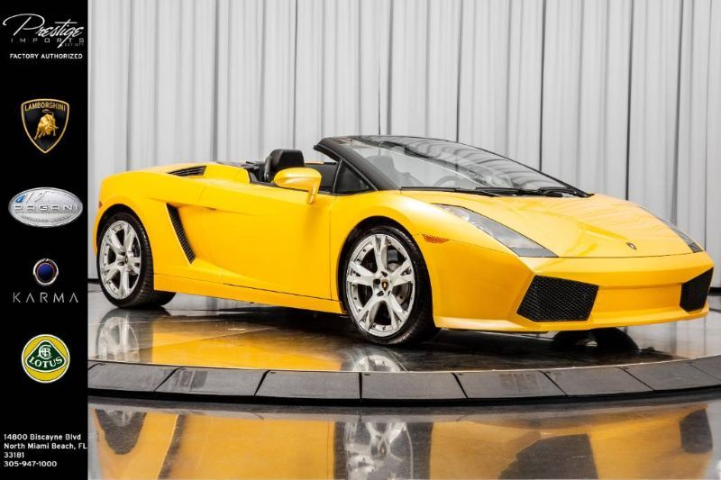 2006_Lamborghini_Gallardo Spyder__ North Miami Beach FL
