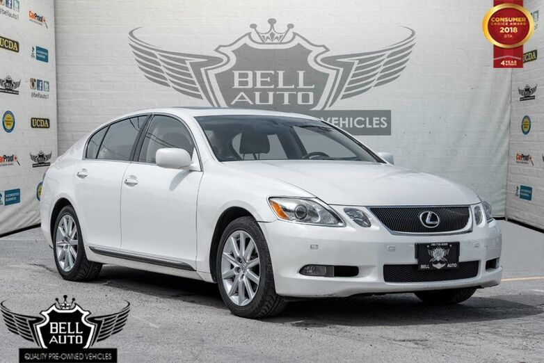 2006 Lexus GS 300 NAVIGATION SUNROOF LEATHER BACK-UP CAMERA ALLOY WHEELS Toronto ON