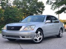 2006_Lexus_LS 430_4dr Sdn_ Cary NC