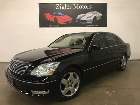 2006 Lexus LS 430 Modern Luxury Pkg Navigation Backup Cam Heated&Cooled seats Clean Carfax Addison TX