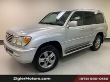 2006_Lexus_LX 470_Navigation Backup Camera two owner Dallas car serviced!_ Addison TX