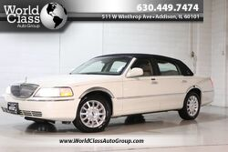 Lincoln Town Car Signature - WOOD GRAIN INTERIOR POWER LEATHER SEATS PARKING SENSORS ALLOY WHEELS ADJUSTABLE PEDLES POWER MIRRORS & LOCKS 2006