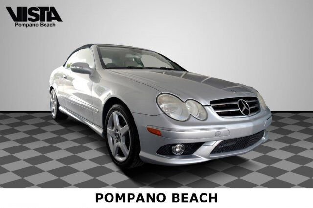 2006 Mercedes-Benz CLK-Class 5.0L Coconut Creek FL