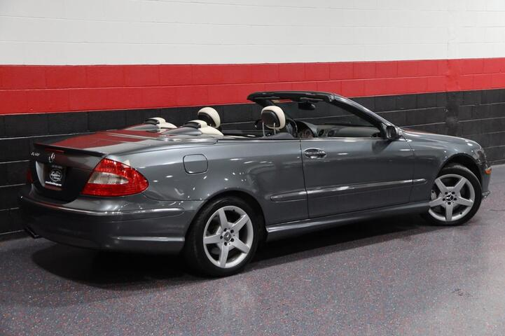 2006 Mercedes-Benz CLK500 AMG Sport Designo Graphite Edition 2dr Convertible Chicago IL