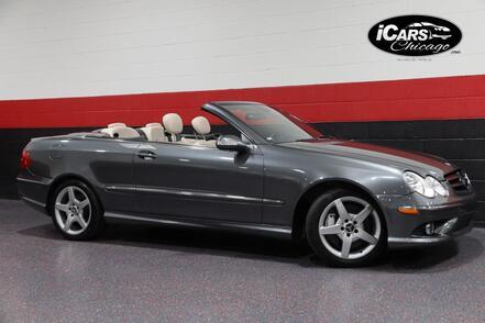 2006_Mercedes-Benz_CLK500_AMG Sport Designo Graphite Edition 2dr Convertible_ Chicago IL