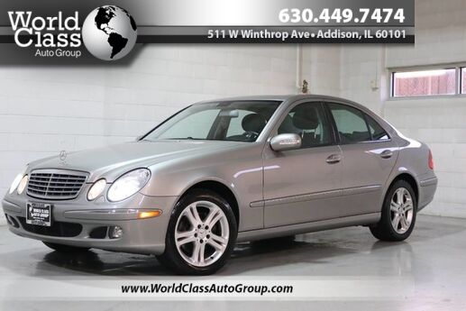 2006 Mercedes-Benz E-Class 3.5L - AWD SUN ROOF WOOD GRAIN INTERIOR HEATED LEATHER SEATS POWER ADJUSTABLE SEATS ALLOY WHEELS Chicago IL