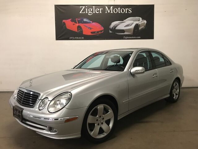 2006 Mercedes-Benz E500 5.0L V8 Low miles Two Owner Clean Carfax Garage kept Stunning! Addison TX