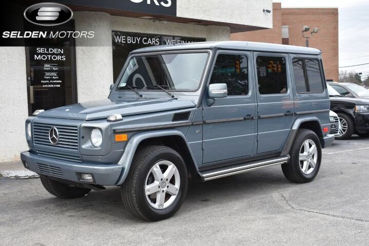 2006_Mercedes-Benz_G500_4Matic_ Conshohocken PA