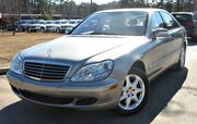 2006 Mercedes-Benz S550 w/ NAVIGATION & LEATHER SEATS