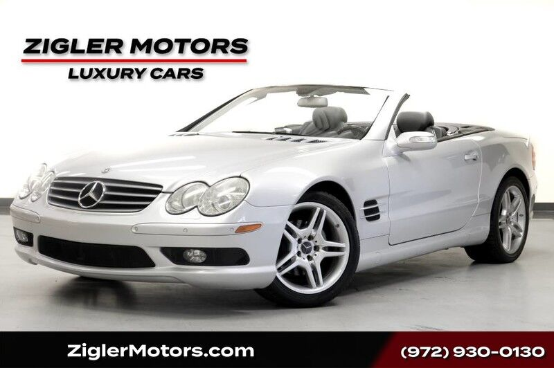 2006 Mercedes-Benz SL 500 Sport Package Glass Panoramic Roof Adaptive Cruise Addison TX