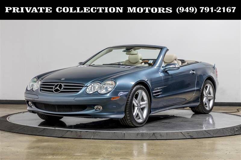 2006_Mercedes-Benz_SL-Class_5.0L_ Costa Mesa CA