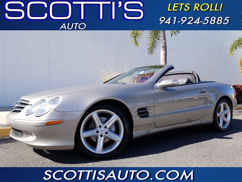2006 Mercedes-Benz SL-Class HARD TOP CONVERTIBLE~ 2-OWNERS~ CLEAN CARFAX~ VERY WELL SERVICED~EXCELLENT CONDITION~ VERY NICE CAR! CONTACT US TODAY! Sarasota FL