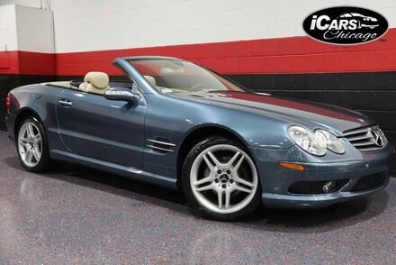 2006_Mercedes-Benz_SL500_AMG Sport 2dr Convertible_ Chicago IL