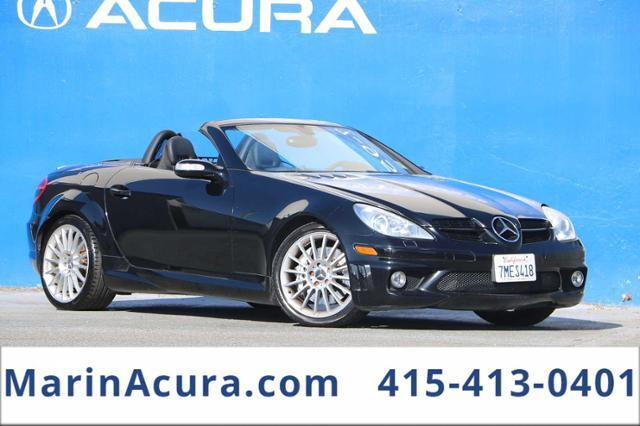 2006_Mercedes-Benz_SLK-Class_Roadster 5.5L AMG_ Bay Area CA