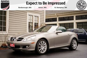 2006_Mercedes-Benz_SLK350_Roadster_ Boxborough MA