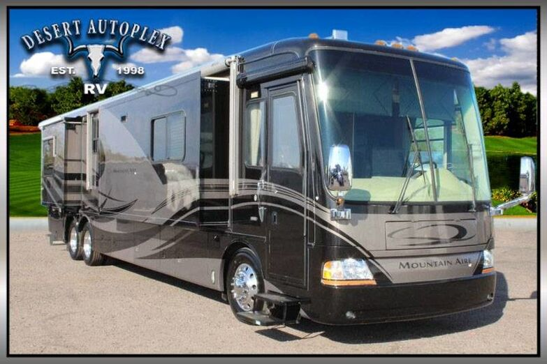 2006 Newmar Mountain Aire 4304 Quad Slide Class A Diesel RV Treated w/Cilajet Anti-Microbial Fog Mesa AZ