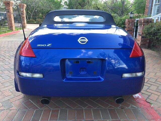 2006 Nissan 350Z Enthusiast 1-OWNER TORQUIZE BLUE LOW MILEAGE 6-spd AWESOME CAR! Arlington TX