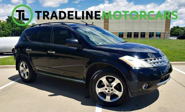2006 Nissan Murano SL LEATHER, REAR VIEW CAMERA, CRUISE CONTROL, AND MUCH MORE!!! CARROLLTON TX