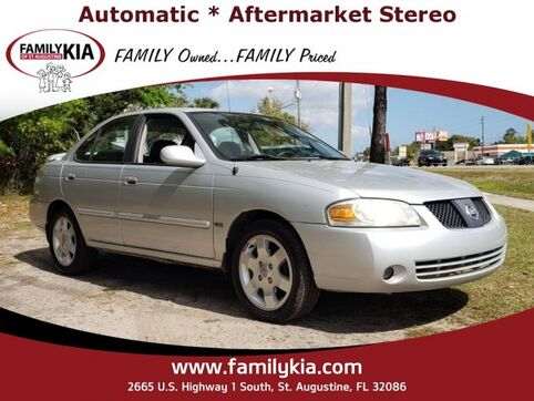 2006_Nissan_Sentra__ St. Augustine FL