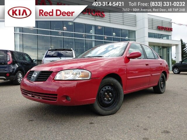 2006 Nissan Sentra 1.8 Red Deer AB