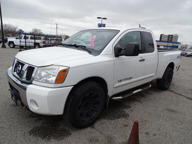 2006 Nissan Titan LE, Running Boards, Hitch Attachment, Power locks, front seats, and windows Kelowna BC