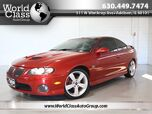 2006 Pontiac GTO 6.0L V8 - RARE! LEATHER TINTED WINDOWS TOUCHSCREEN AUDIO