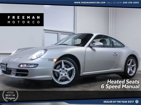 2006_Porsche_911_Carrera 4 AWD 6 Spd Manual Heated Seats Bose_ Portland OR