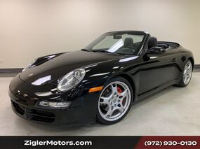 Porsche 911 Carrera S Cabriolet Black 6-Speed Manual only miles 24000 miles Serviced. 2006
