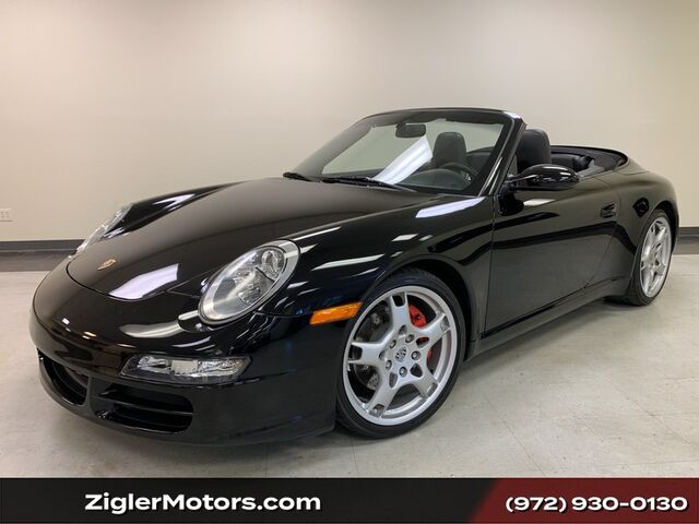 2006 Porsche 911 Carrera S Cabriolet Black 6-Speed Manual only miles 24000 miles Serviced. Addison TX