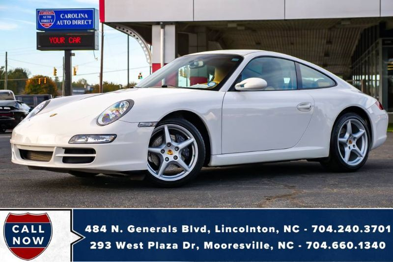 2006 Porsche 911 Carrera w/ LESS THAN 25,000 MILES!! Mooresville NC