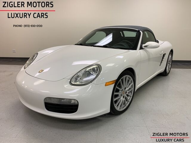 2006 Porsche Boxster 5 Sd Manual 19 Inch Sport Design Wheels Prefered Package Addison Tx