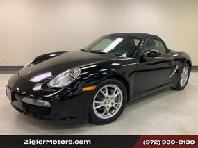 Porsche Boxster Convertible Black/Black well maintained. 2006