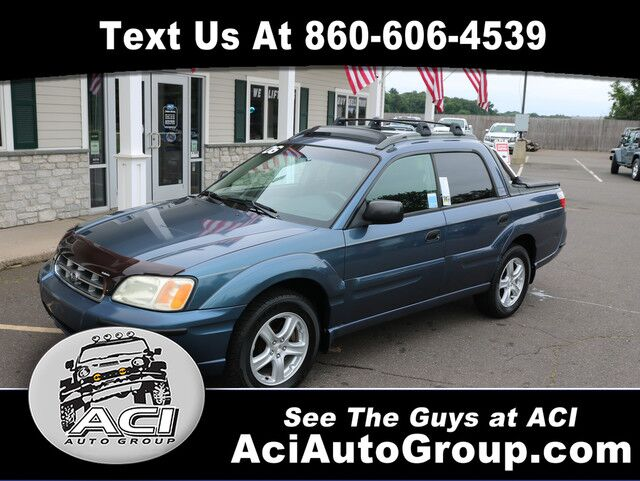2006 Subaru Baja Sport East Windsor CT