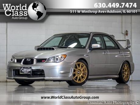 2006 Subaru Impreza Sedan WRX STi AWD ONE OWNER Chicago IL
