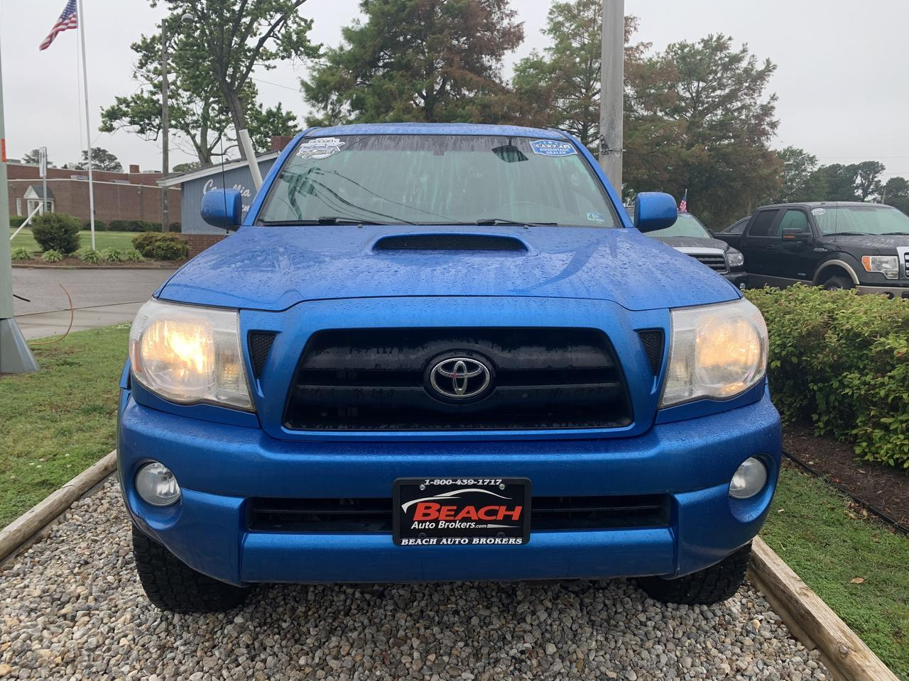 2006 TOYOTA TACOMA TRD SPORT DOUBLE CAB 4X4, WARRANTY, TOW PKG, BED LINER, SIRIUS RADIO, A/C, CLEAN CARFAX! Norfolk VA