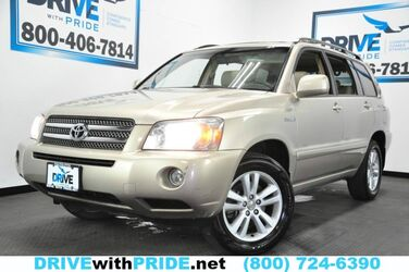 Toyota Highlander Hybrid BOSE DUAL ZONE AC RUNBOARDS TOWING CHROME WHLS 2006