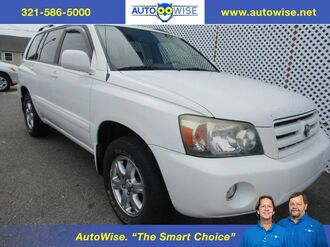2006_Toyota_Highlander_LIMITED W/3 ROWS_ Melbourne FL