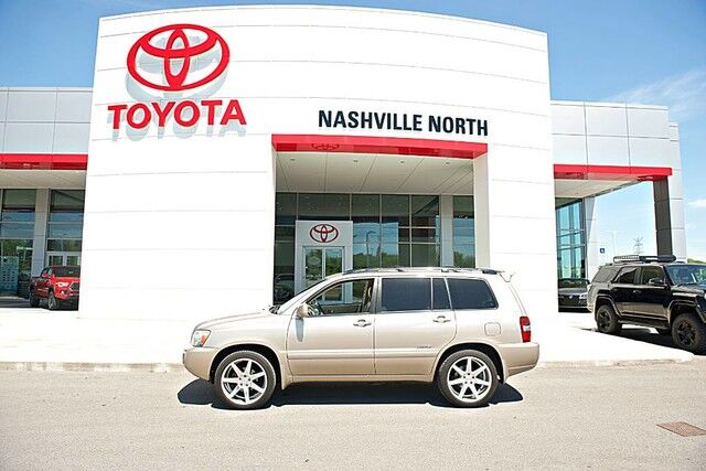 2006 Toyota Highlander Limited w/3rd Row Nashville TN